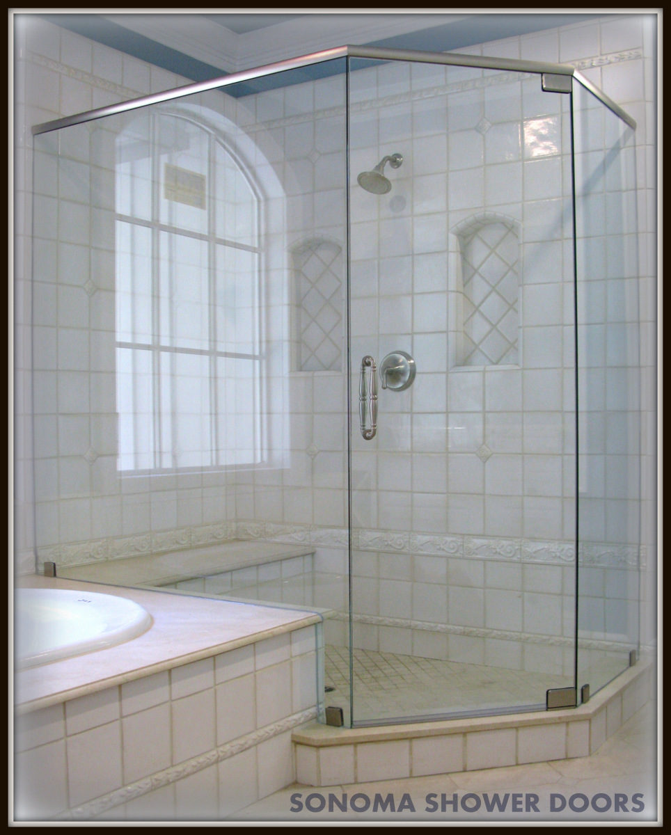 Frameless Shower Door And Panel Doors Neo Angle