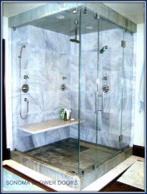 Steam Shower Enclosure 90 degree