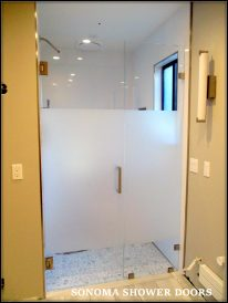 FL Door and Panel with Privacy Strip